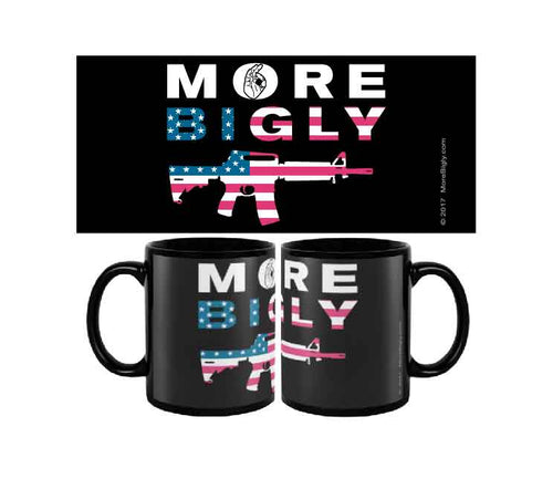 MAGA AR-15 flag coffee mug