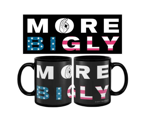 MAGA Bigly Flag coffee mug