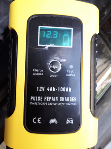automatic charger 12 V with LCD display   milena-spb.com