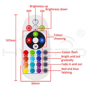 Led control panel interior car