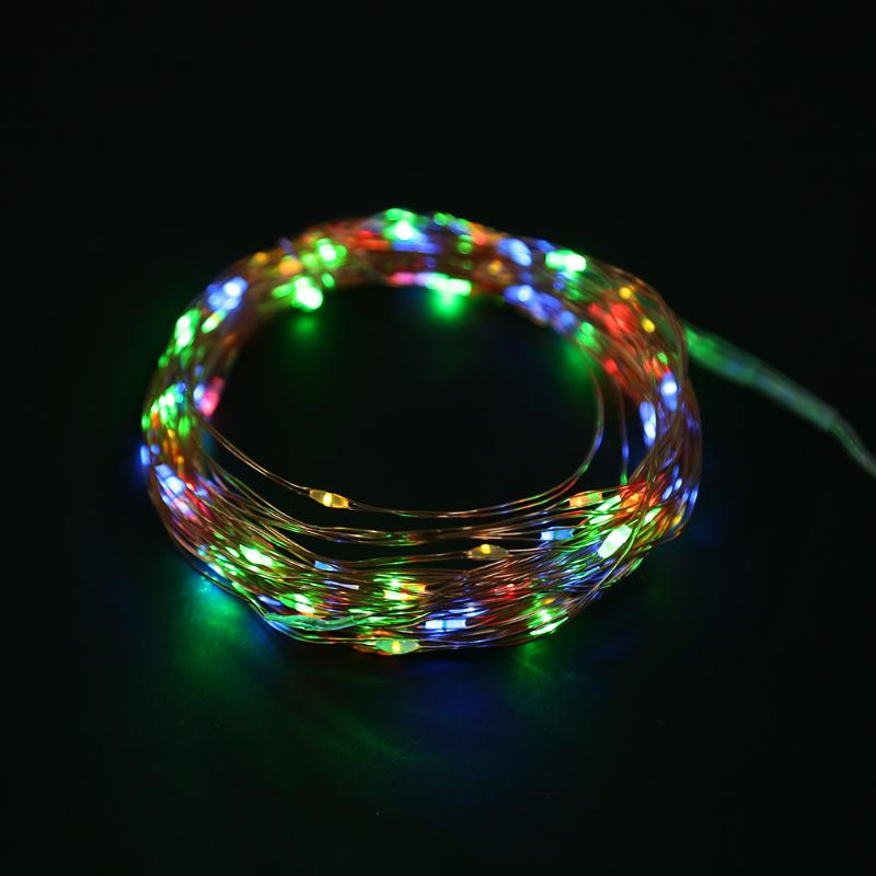 Corde de LED couleur solaire étanche  Christmas decoration lights