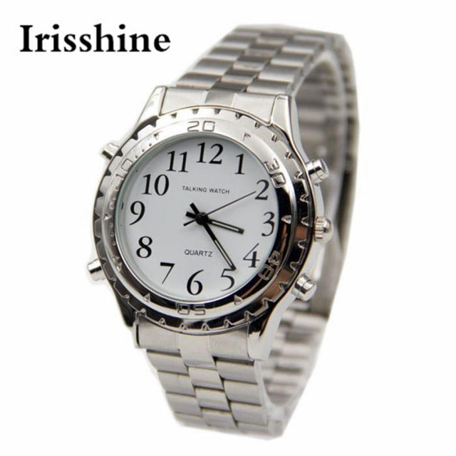 Montre parlante anglais homme men's watch Speaking English
