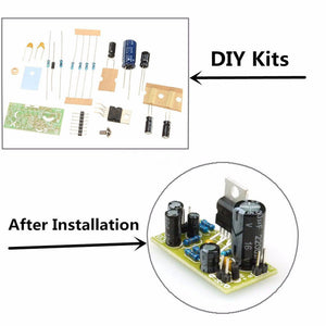 DIY AMPLI TDA 2030 A DIY easy to do    Ampli BF 18W KIT
