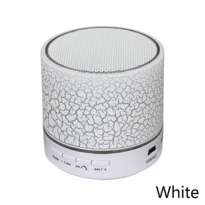 Column LED Mini Wireless Bluetooth Speaker TF USB