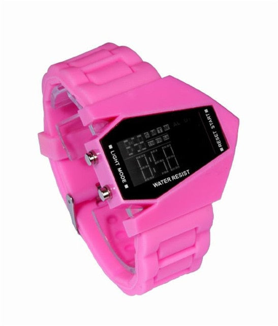 Montre STOPWATCH ultra design affichage digital LED   homme femme enfant