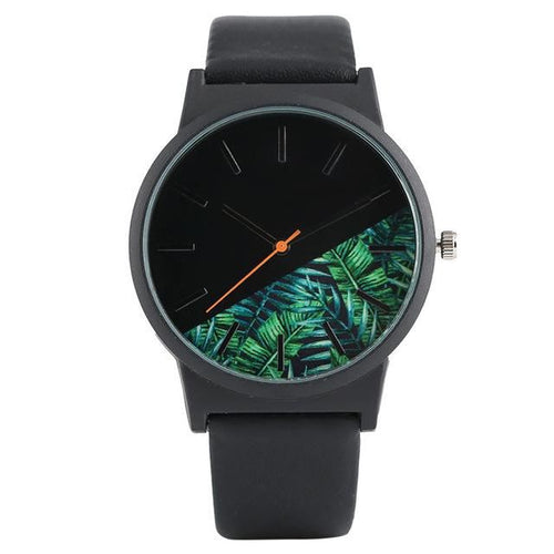 Men's Tropical Jungle Design Quartz Watches - Dude Life
