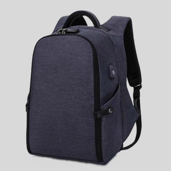 """Your Highness"" Anti-theft Backpack with USB Charging Port"