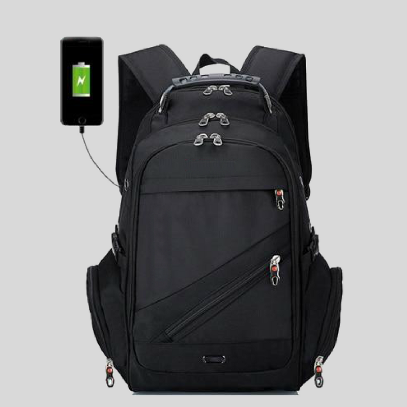 Majesty Travel Backpack with USB Charging port