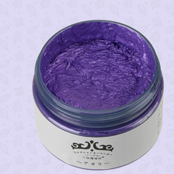Watercolor Hair Wax