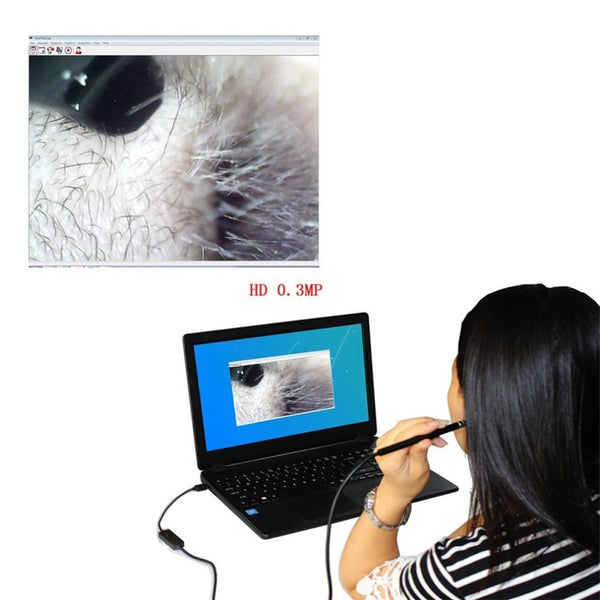 2-in-1 USB Endoscope Ear Cleaning Device