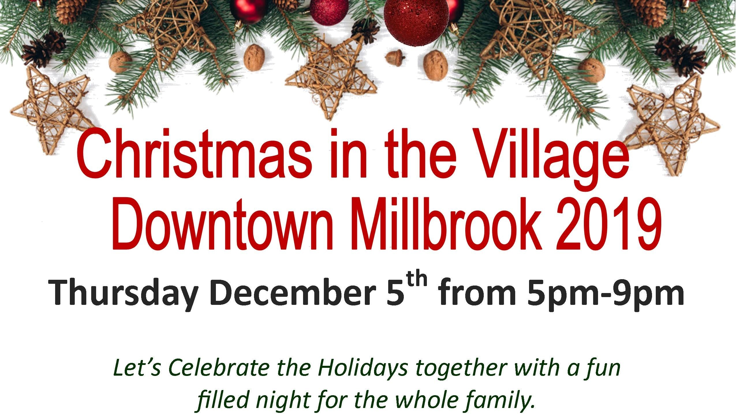 Millbrook Christmas in the Village