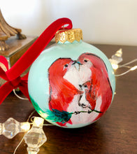 Load image into Gallery viewer, Christmas Eve Gift - Original Painting on Ornament