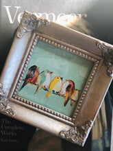 Load image into Gallery viewer, We Are The World - Mini Framed Print of birds on a wire