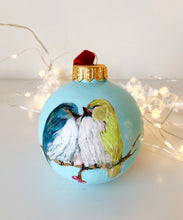 Load image into Gallery viewer, Love Is.. - Original Painting on Ceramic Ornament