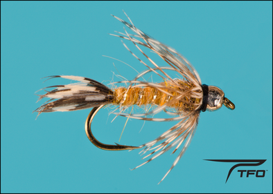 Tungsten Beadhead Red Fox Squirrel Nymph | TFO - Temple Fork Outfitters Canada
