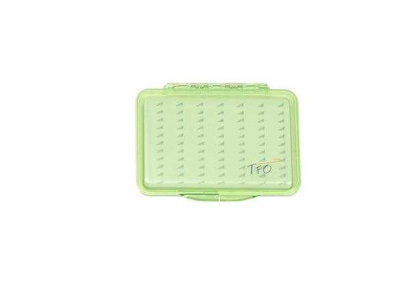TFO Clear Slit Foam Colour Fly Boxes
