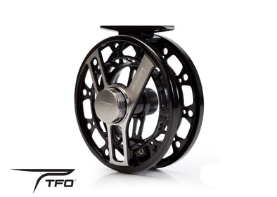 TFO Power reel front side photo view