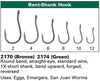 Daiichi 2170 Multi-Use Wet Fly Hook - Bronze