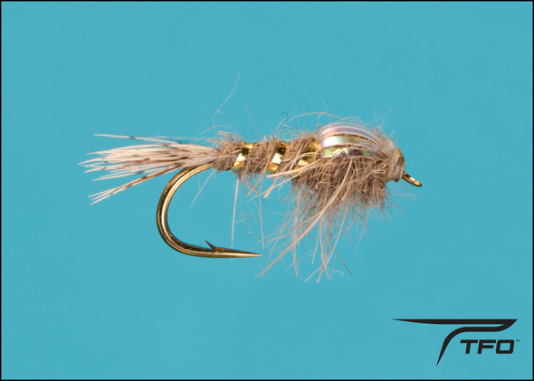 Adams Flashback Fly fishing nymph, TFO - Temple Fork Outfitters Canada