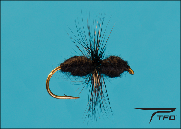 Ant BlackDry fly fishing fly  | TFO - Temple Fork Outfitters Canada