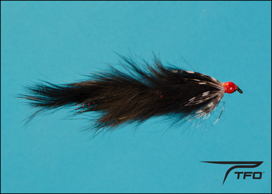 Articulated Strip Teaser - Black  Fly fishing streamer | TFO - Temple Fork Outfitters Canada