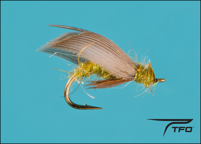 Caddis Pupa Green