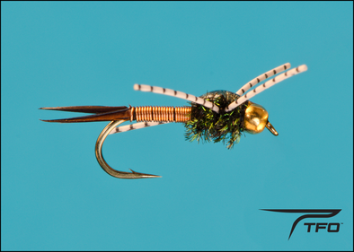 Beadhead Copper John Copper Poxyback R/Leg Fly fishing nymph | TFO - Temple Fork Outfitters Canada