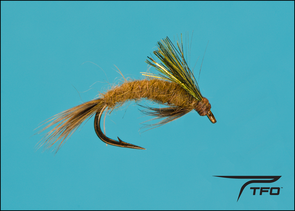 Emerging Nymph Olive Fly fishing nymph | TFO - Temple Fork Outfitters Canada