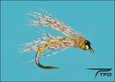 Glass Bead Flashback Green Caddis Emerger Fly fishing nymph | TFO - Temple Fork Outfitters Canada