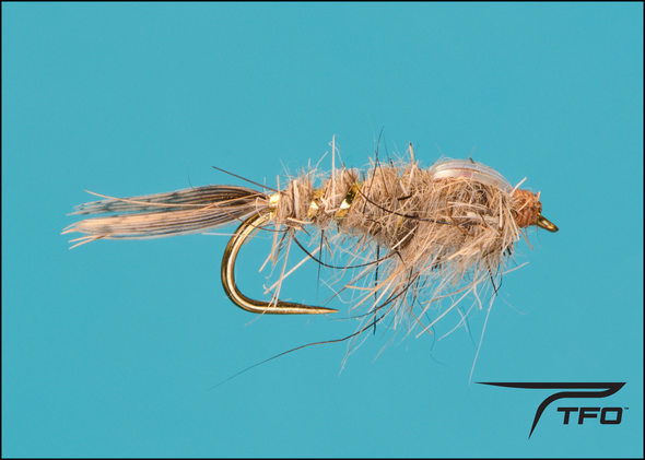 Gold Ribbed Hare's Ear Flashback Fly fishing nymph | TFO - Temple Fork Outfitters Canada