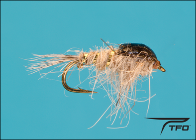 Gold Ribbed Hare's Ear -Poxyback Fly fishing nymph | TFO - Temple Fork Outfitters Canada