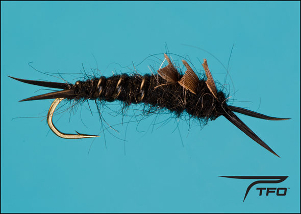 Kaufmann's Stone - Black Fly fishing nymph | TFO - Temple Fork Outfitters Canada