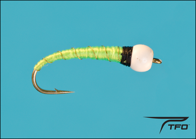 Chironomid-Kelly's Ice Cream Cone - Bright Green