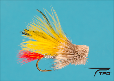Marabou Muddler Minnow - Yellow