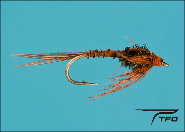 Mayfly Nymph - Brown Fly fishing nymph | TFO - Temple Fork Outfitters Canada