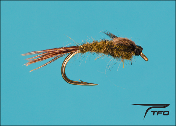 Mayfly Nymph - Dark Olive Fly fishing nymph | TFO - Temple Fork Outfitters Canada