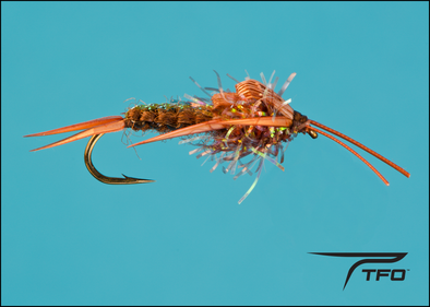 Woven Stonefly - Brown