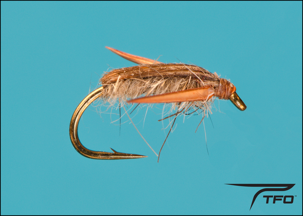 Water Boatman - Tan