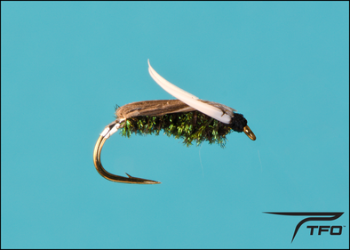 Backswimmer Peacock Fly fishing nymph | TFO - Temple Fork Outfitters Canada