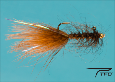 Balanced Leech Dk. Brown Fly fishing nymph | TFO - Temple Fork Outfitters Canada