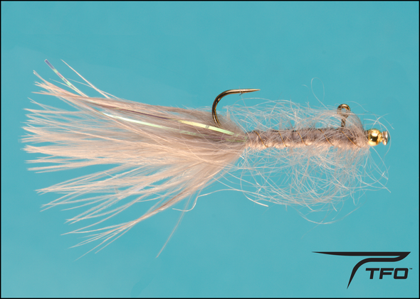 Balanced Leech Dk. Gray Fly fishing nymph | TFO - Temple Fork Outfitters Canada