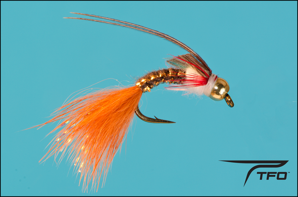 Beadhead Caddis Brown Fly fishing nymph | TFO - Temple Fork Outfitters Canada