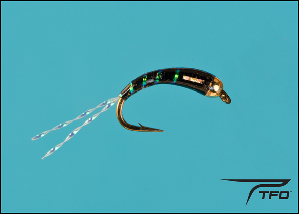 BEADHEAD CHIRONOMID BLACK Fly fishing nymph | TFO - Temple Fork Outfitters Canada