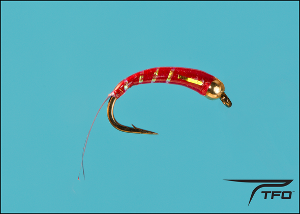 Beadhead Chironomid Red Fly fishing nymph | TFO - Temple Fork Outfitters Canada