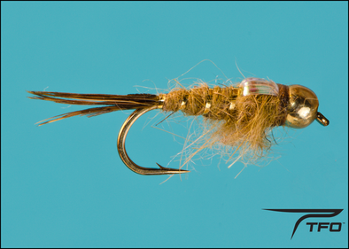 Beadhead Hares Ear Flashback Olive | TFO - Temple Fork Outfitters Canada