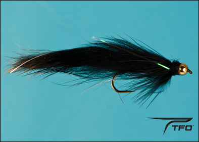 Beadhead Leech Rabbit Black | TFO - Temple Fork Outfitters Canada