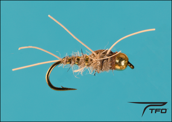 Beadhead Rubber Leg Hares Ear Natural Nymph | TFO - Temple Fork Outfitters Canada