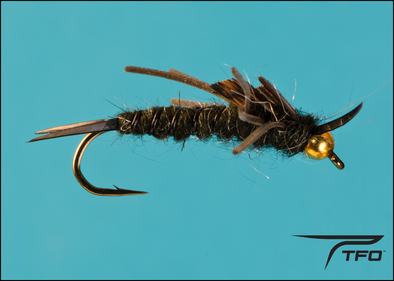 Beadhead Stonefly Rubber Leg - Black | TFO - Temple Fork Outfitters Canada