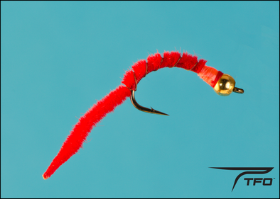 Beadhead Worm San Juan Red | TFO - Temple Fork Outfitters Canada