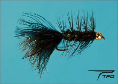 Beadhead Woolly Bugger Black | TFO - Temple Fork Outfitters Canada